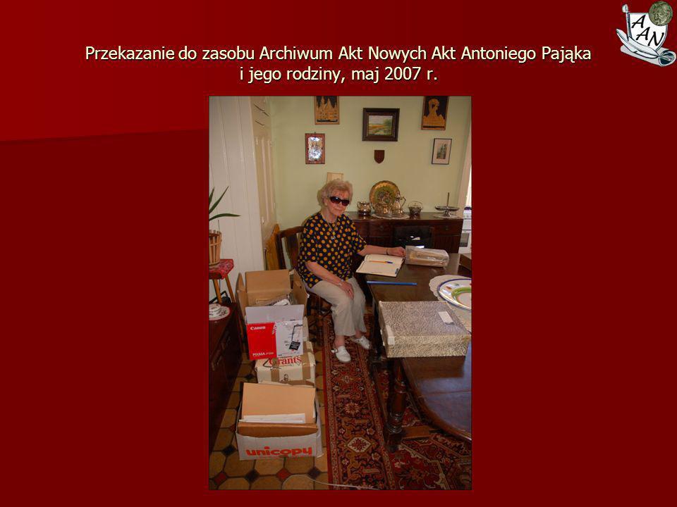 Wystawa Tradycje dyplomacji Polski Odrodzonej 1918-1945 w Muzeum Wychodźstwa Polskiego, 18 maja 2007 r.