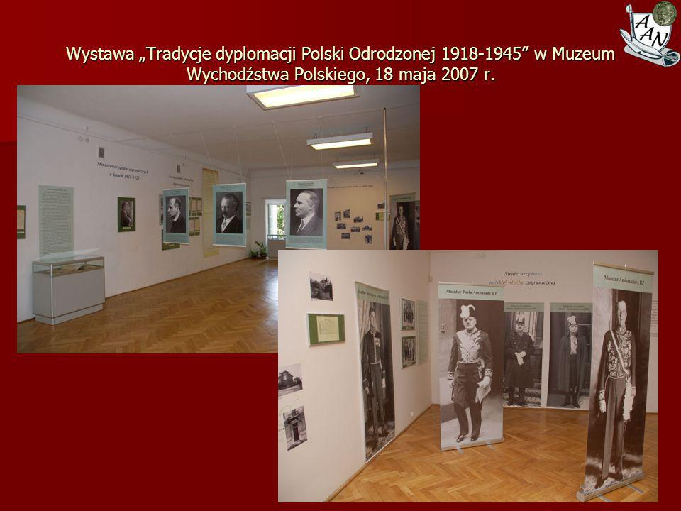 Odbiór dokumentów Tadeusza Wronowskiego Przygody oraz Aleksandra Kunickiego Rayskiego w Bielsku-Białej, lipiec 2007 r.