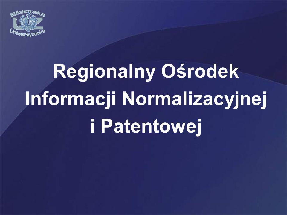 Regionalny Ośrodek Informacji Normalizacyjnej i Patentowej