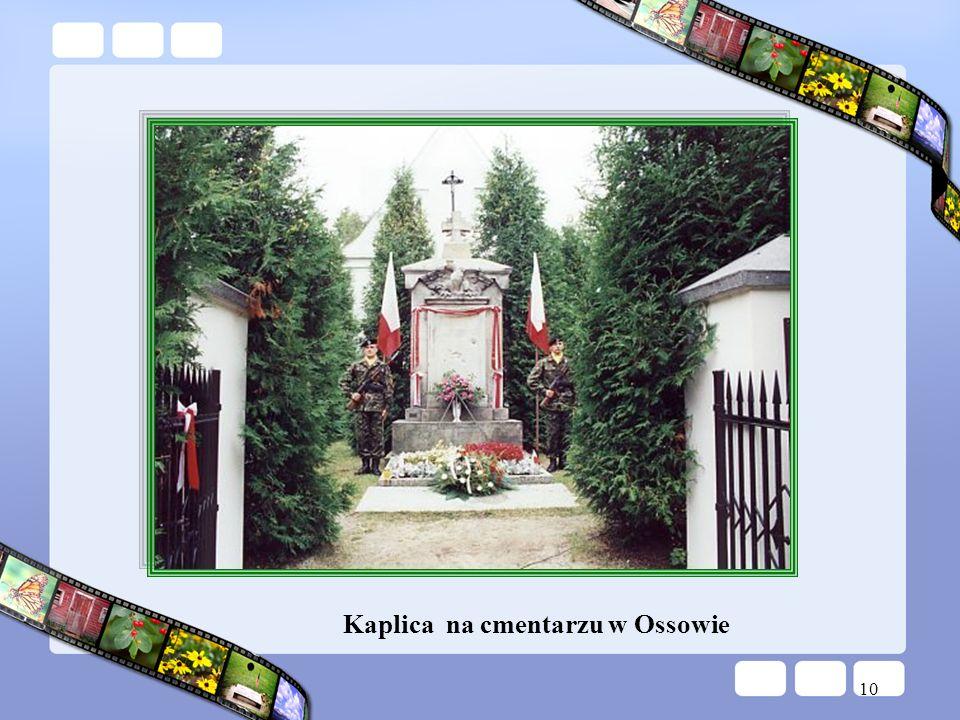 10 Kaplica na cmentarzu w Ossowie