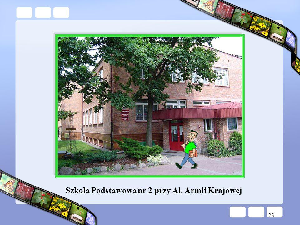 29 Szkoła Podstawowa nr 2 przy Al. Armii Krajowej