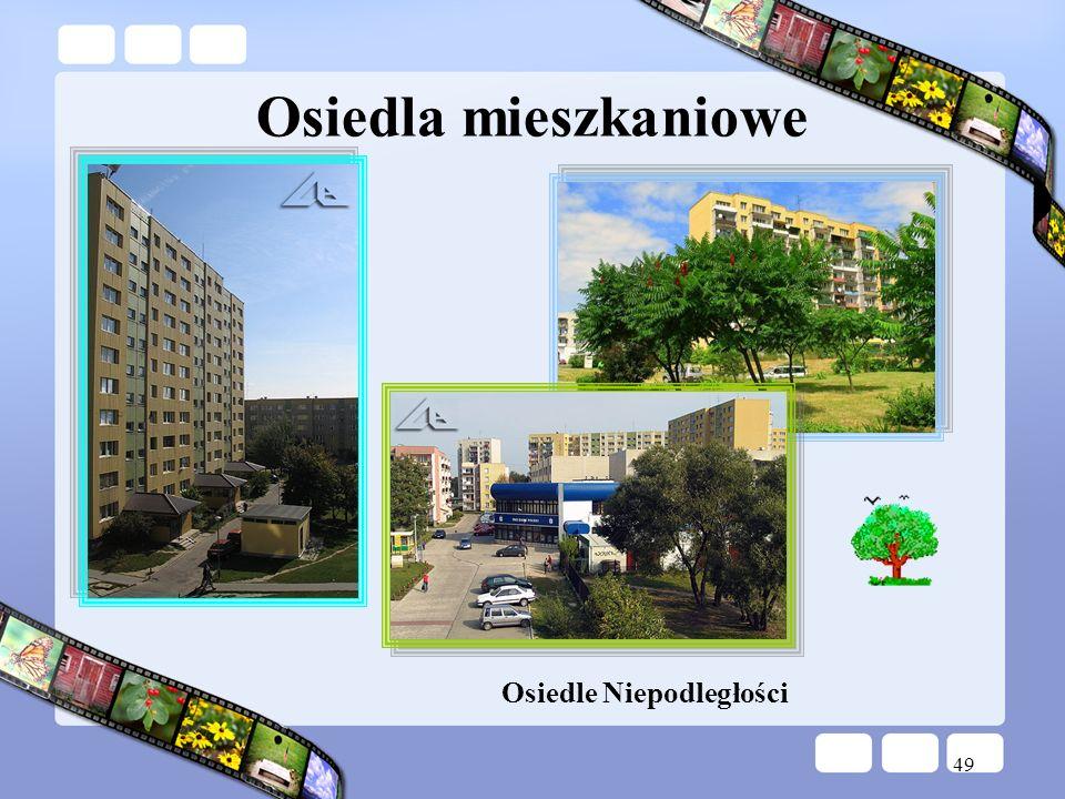 49 Osiedle Niepodległości Osiedla mieszkaniowe