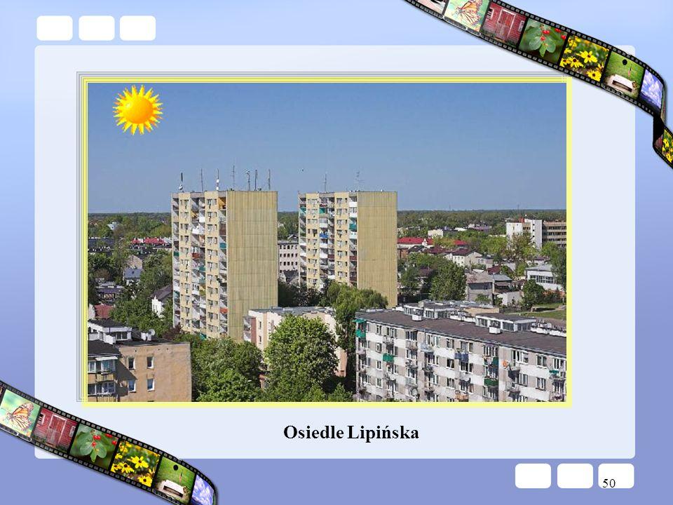 50 Osiedle Lipińska
