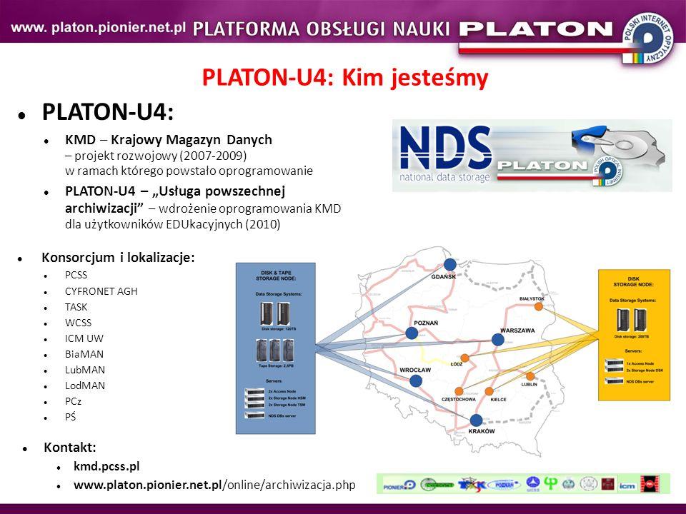 PLATON-U4: KMD – Krajowy Magazyn Danych – projekt rozwojowy (2007-2009) w ramach którego powstało oprogramowanie PLATON-U4 – Usługa powszechnej archiw