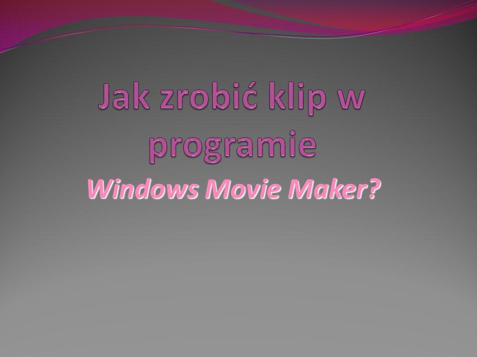Windows Movie Maker?