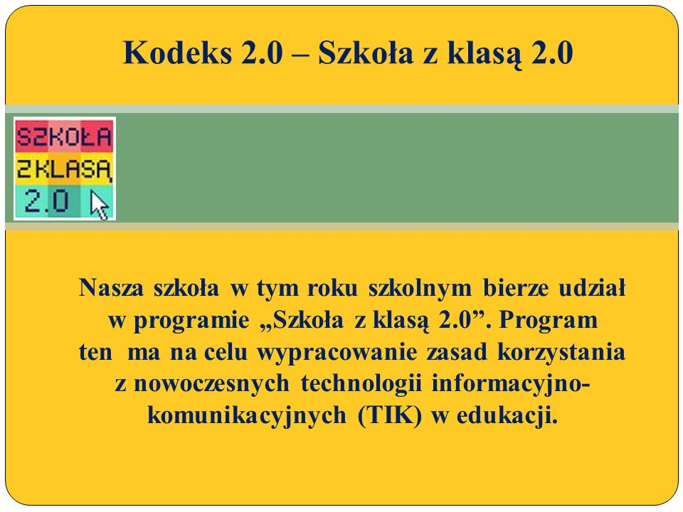 Program skierowany jest do wszystkich nauczycieli, którzy widzą potrzebę edukacji medialnej w szkole, chcą kształtować u uczniów umiejętności odpowiedzialnego korzystania z Internetu i twórczego wykorzystywania nowych technologii, i którzy są przekonani, że stosowanie TIK może pomóc w mądrej i skutecznej edukacji.