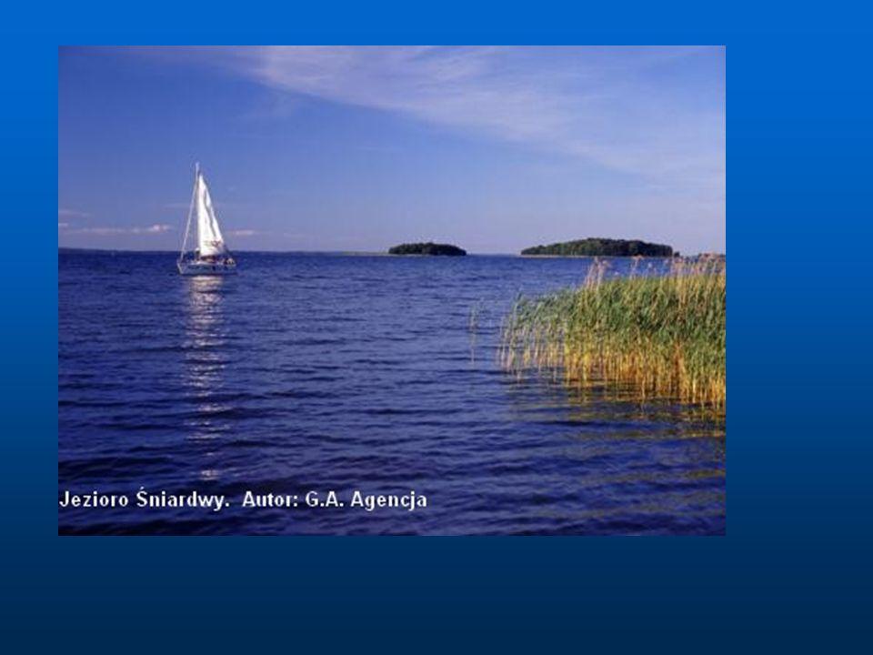 Hańcza (108,5 m głębokości) Jezioro położone na Pojezierzu Wschodniosuwalskim.