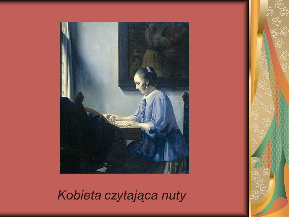 Kobieta czytająca nuty
