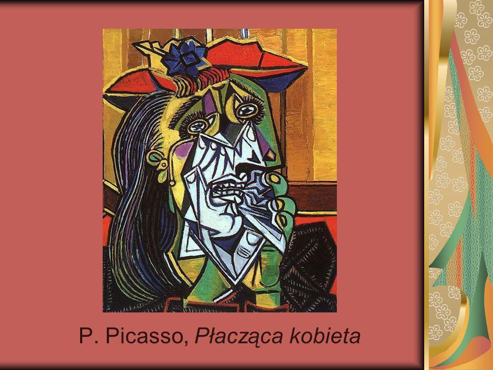 P. Picasso, Płacząca kobieta
