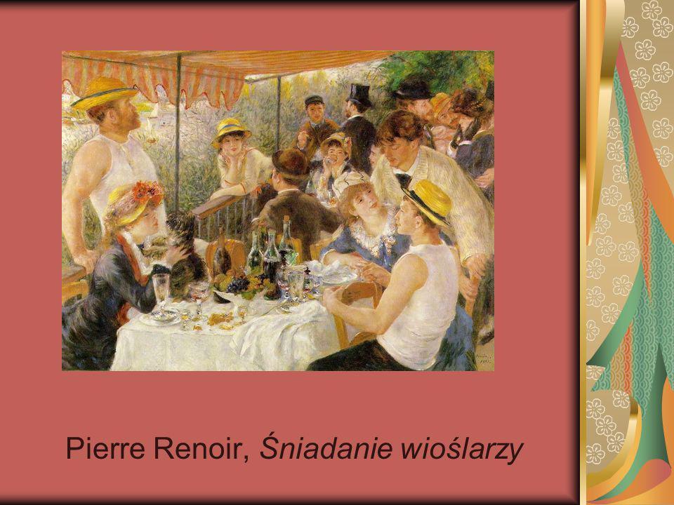 Pierre Renoir, Śniadanie wioślarzy