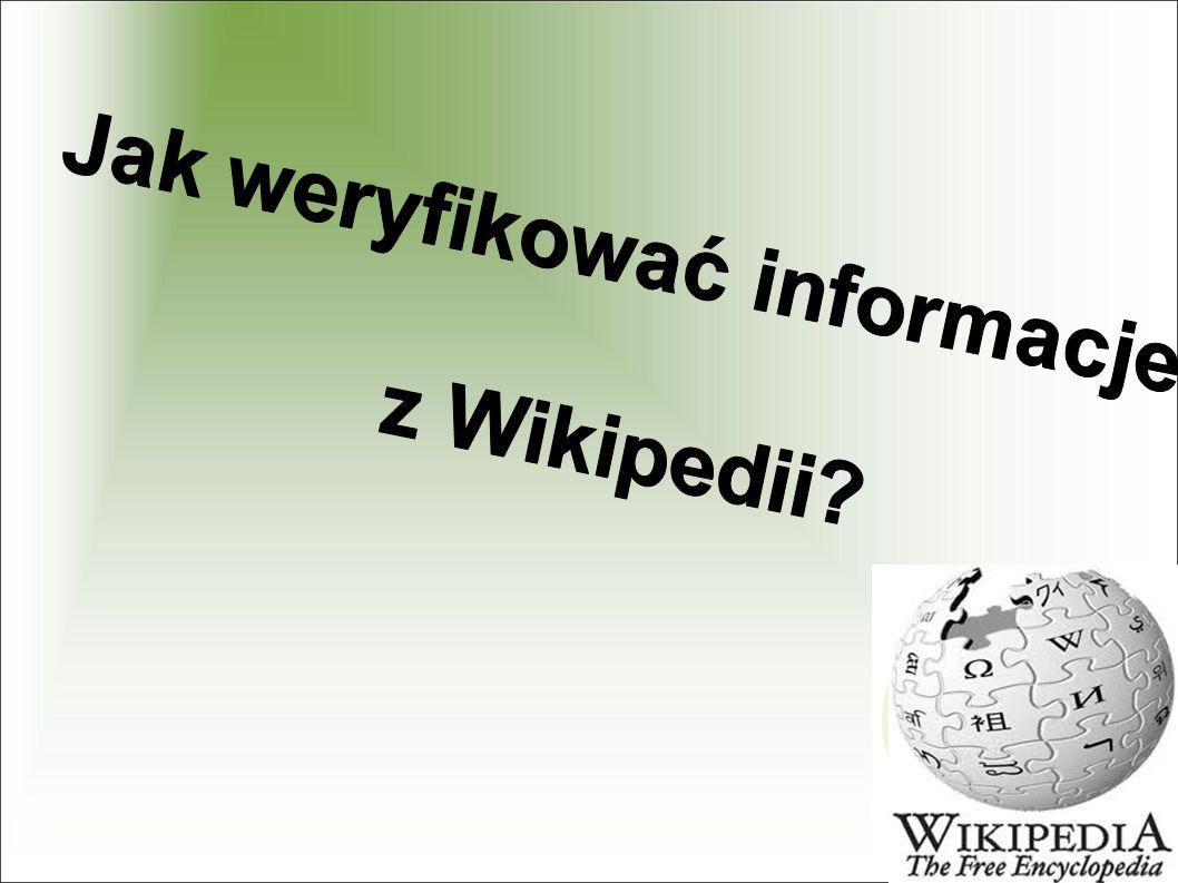 10 rad, jak korzystać z Wikipedii 1.