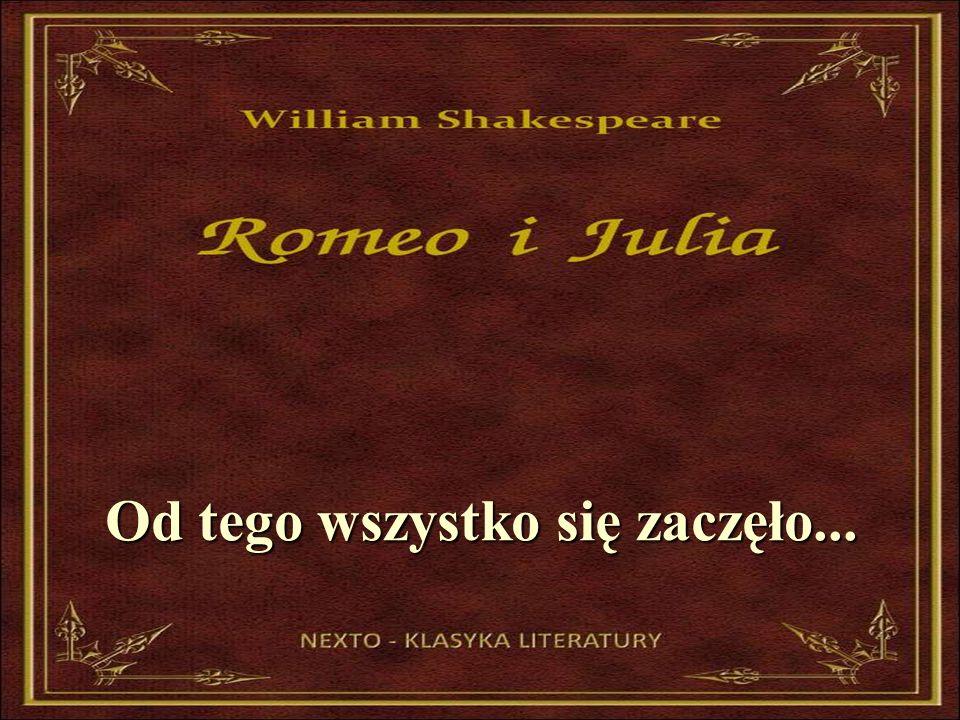 Romeo i Julia- scena ze spektaklu J. Wernio