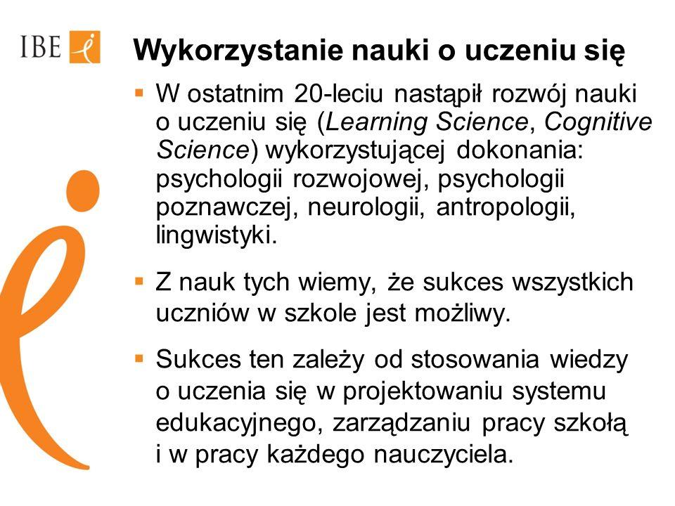 Wnioski z nauk poznawczych Powiązania.