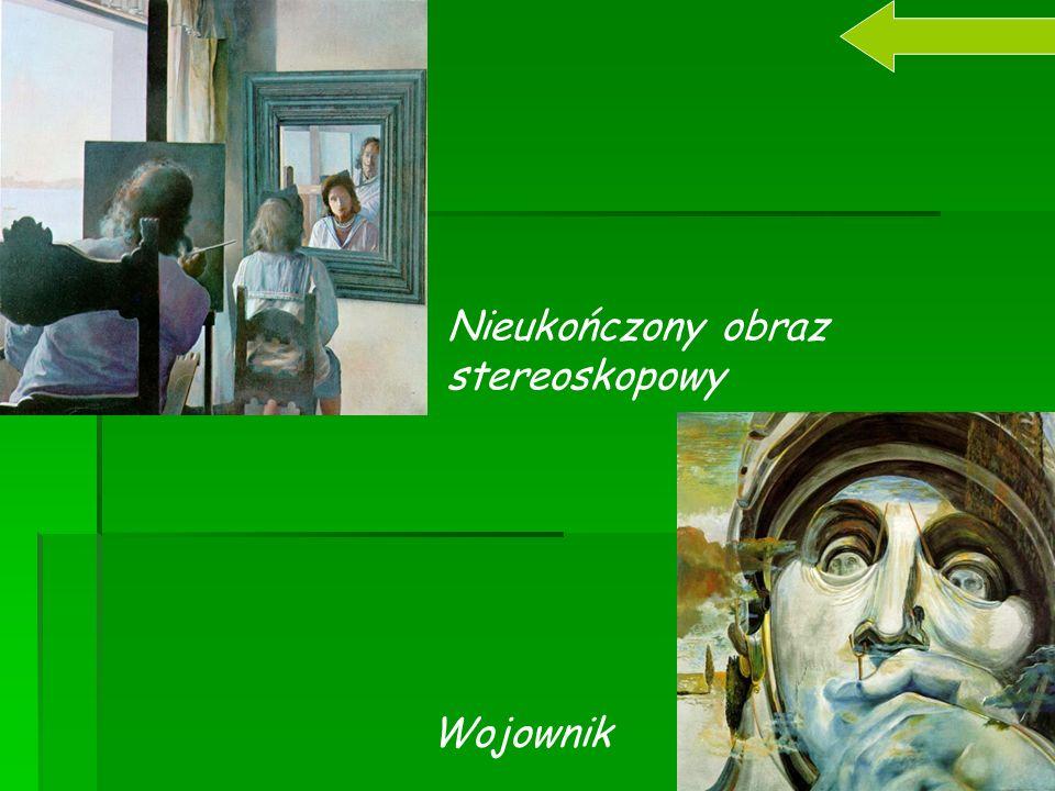 Nieukończony obraz stereoskopowy Wojownik