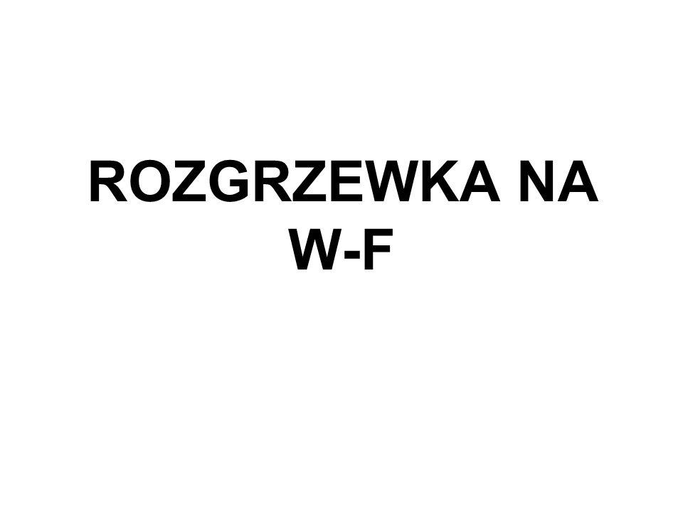 ROZGRZEWKA NA W-F
