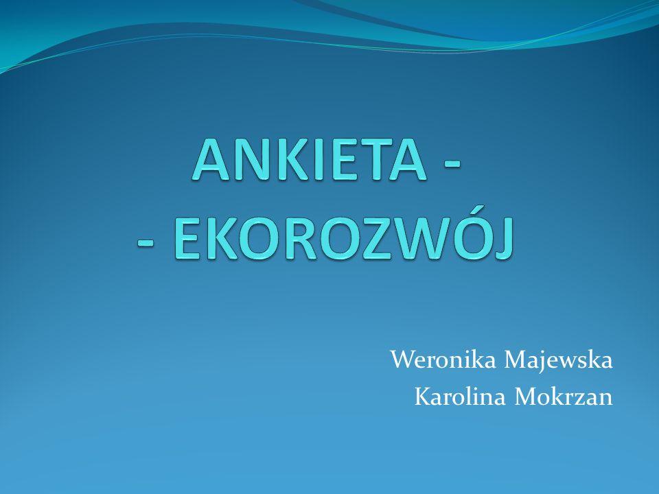Weronika Majewska Karolina Mokrzan