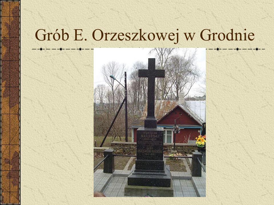 Grób E. Orzeszkowej w Grodnie