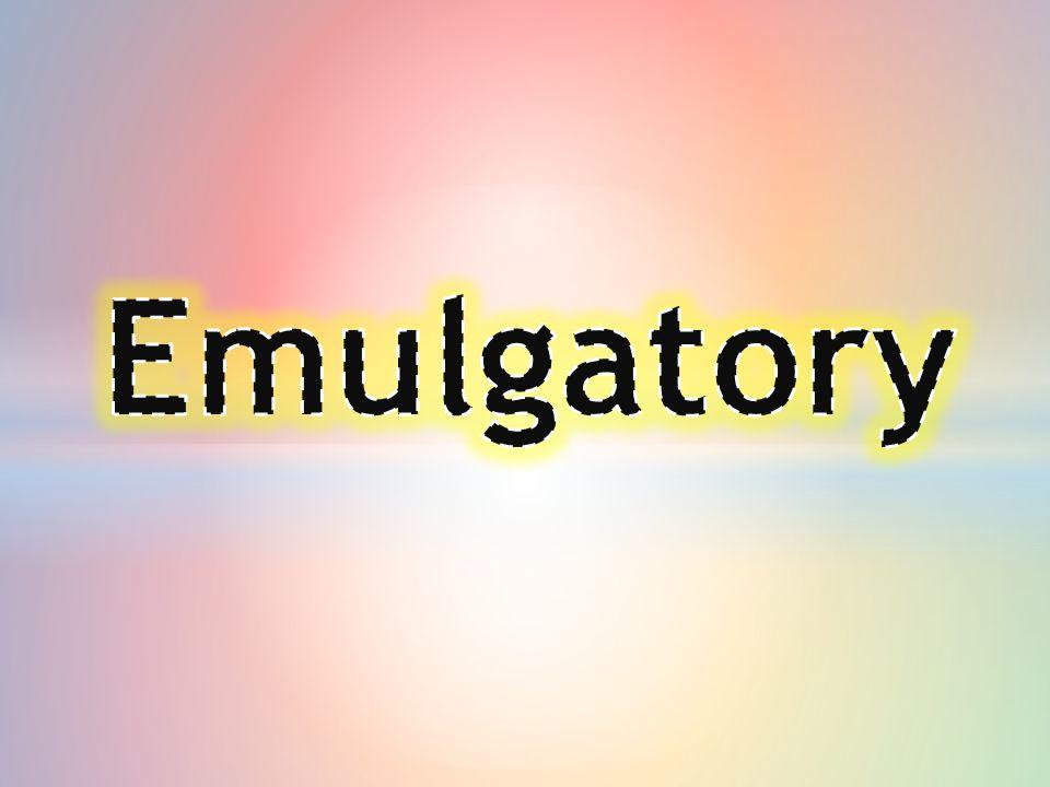 To związek chemiczny, który umożliwia powstanie emulsji oraz zapewnia jej trwałość.