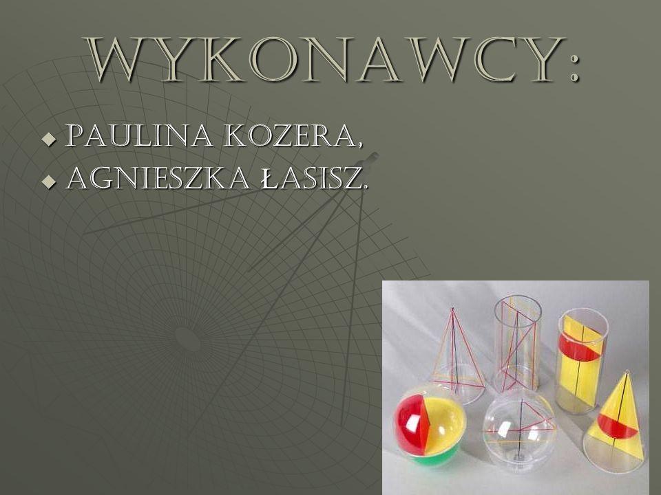 Wykonawcy: PAULINA KOZERA, PAULINA KOZERA, Agnieszka Ł asisz. Agnieszka Ł asisz.