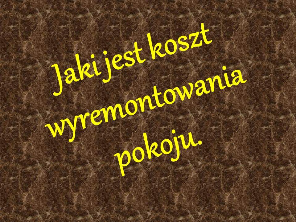 Wszystkie niżej znajdujące się produkty zakupiono prze Internet na www.allegro.pl.