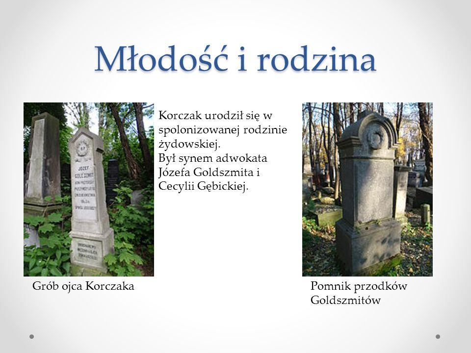 Młodość i rodzina Korczak urodził się w spolonizowanej rodzinie żydowskiej.