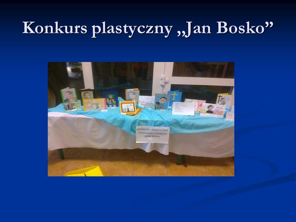 Konkurs plastyczny,,Jan Bosko