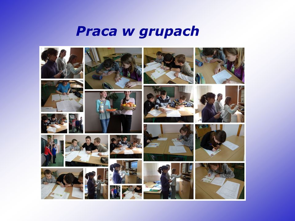 Zbieranie danych Badaniem objęto uczniów klas IV-VI Szkoły Podstawowej im.