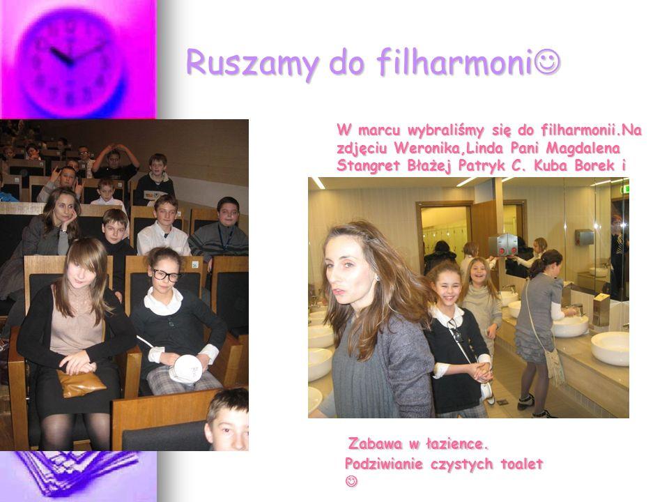 Ruszamy do filharmoni Ruszamy do filharmoni Zabawa w łazience.