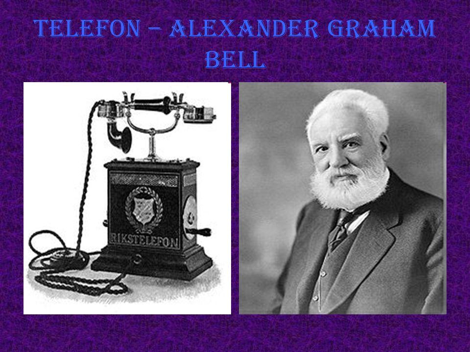 Telefon – Alexander Graham Bell