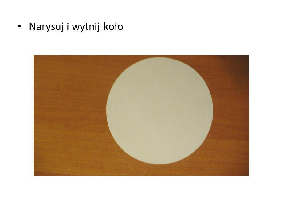 Narysuj i wytnij koło