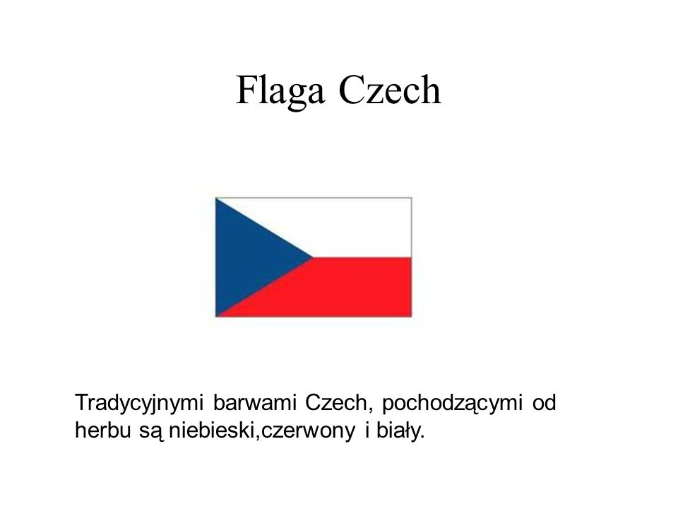 Historia Republika Czeska jest samodzielnym państwem od 1 stycznia 1993 roku, kiedy to nastąpił rozpad Czechosłowacji.Jej terytorium leży w większości