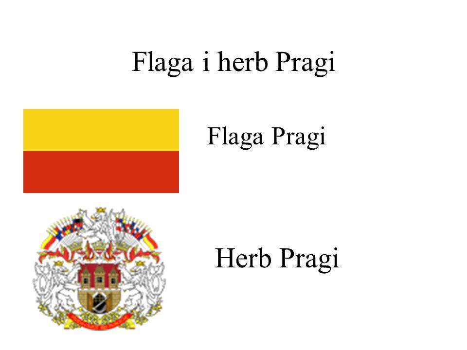 Flaga i herb Pragi Flaga Pragi Herb Pragi