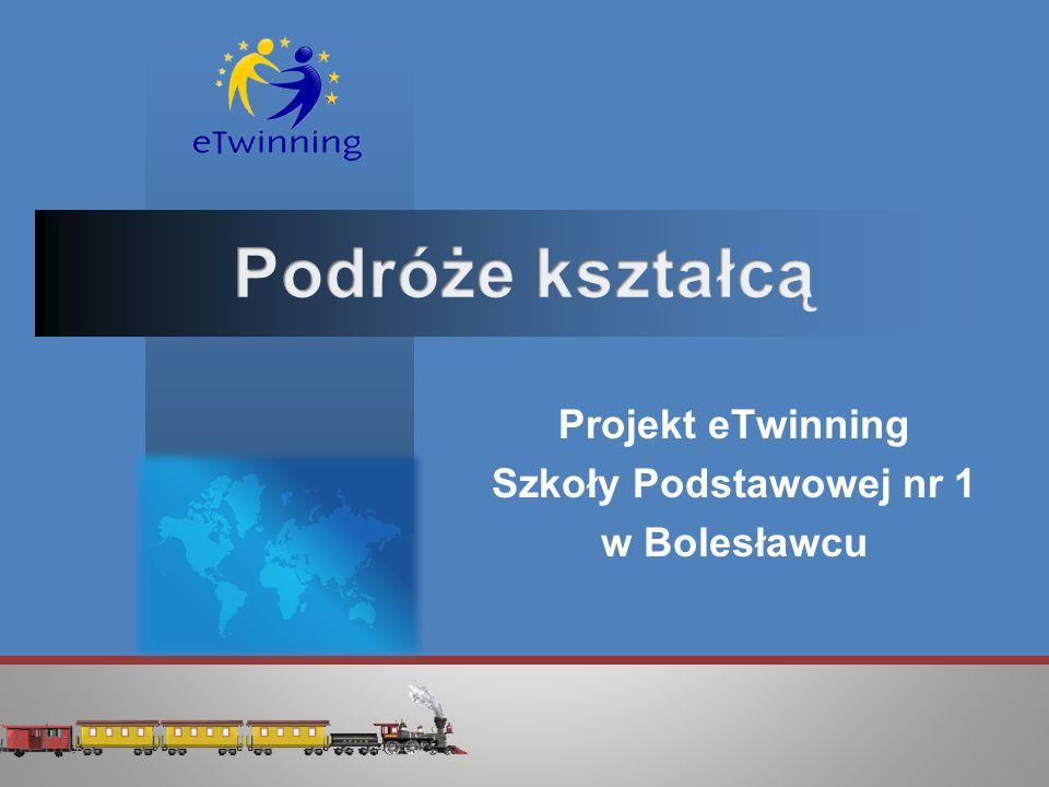 Projekt eTwinning Szkoły Podstawowej nr 1 w Bolesławcu