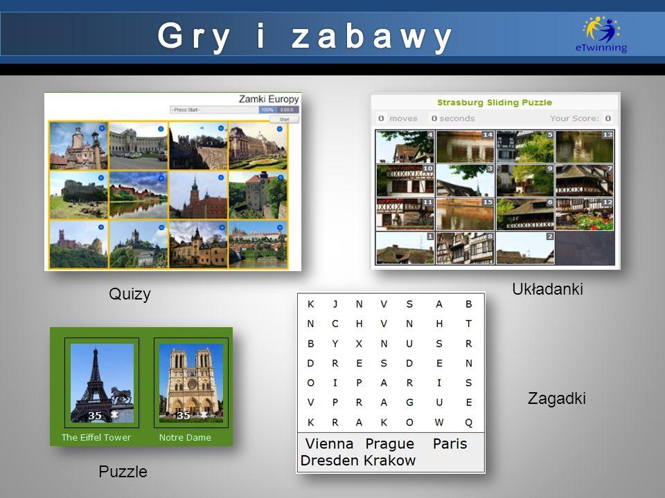 Puzzle Układanki Quizy Zagadki
