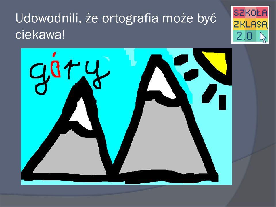 Klasa druga – Z ortografią za pan brat Uczniowie stworzyli słowniczek obrazkowy w programie Paint i Word.