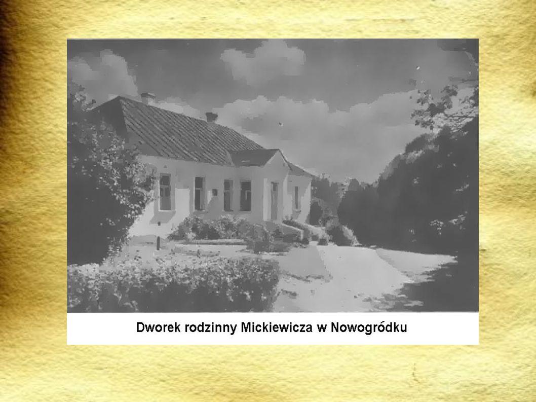 Mickiewicz podróżował po Europie Odwiedził Niemcy.