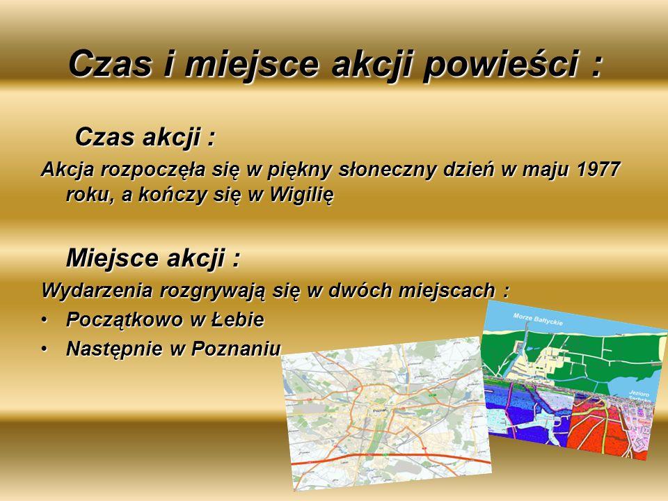 Plan wydarzeń : 1.Spotkanie się Anieli z Pawełkiem w Łebie- miłość.