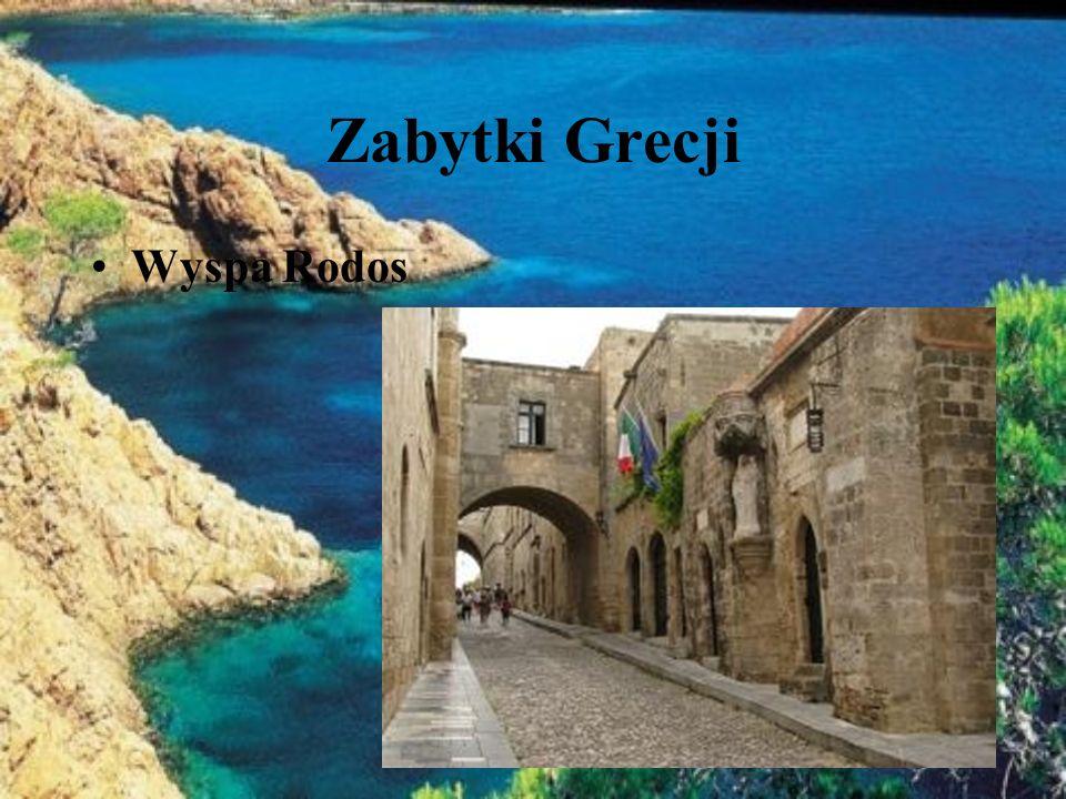 Zabytki Grecji Wyspa Rodos