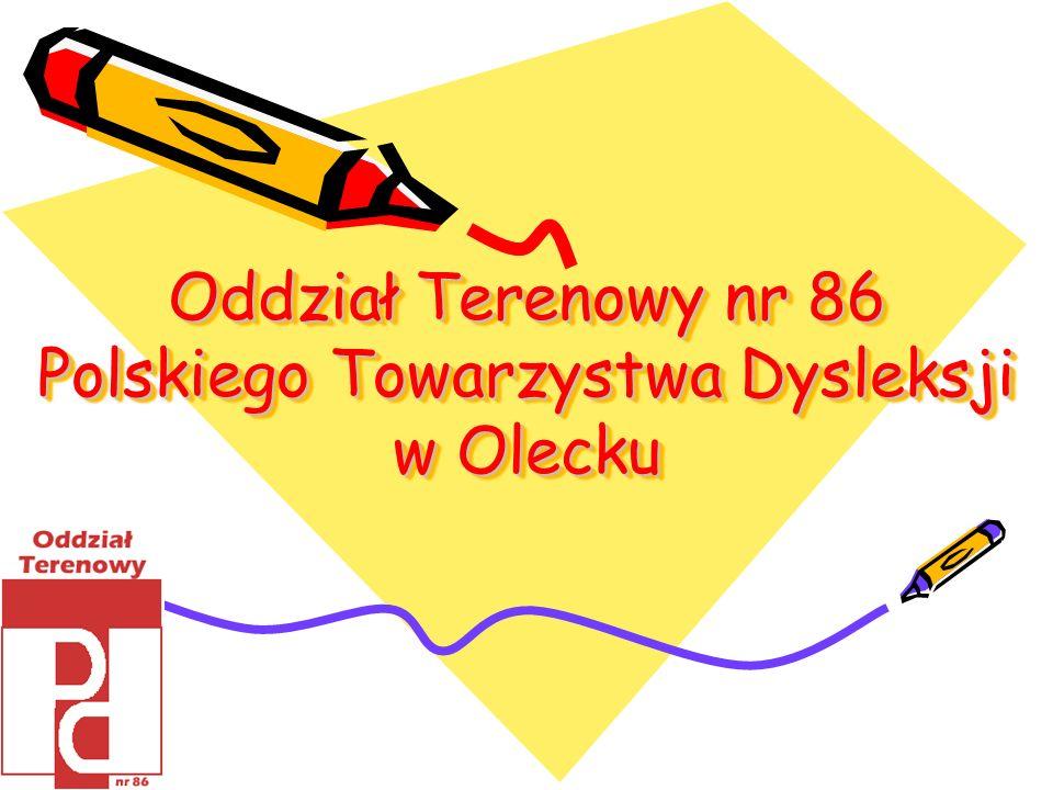 Oddział Terenowy nr 86 Polskiego Towarzystwa Dysleksji w Olecku