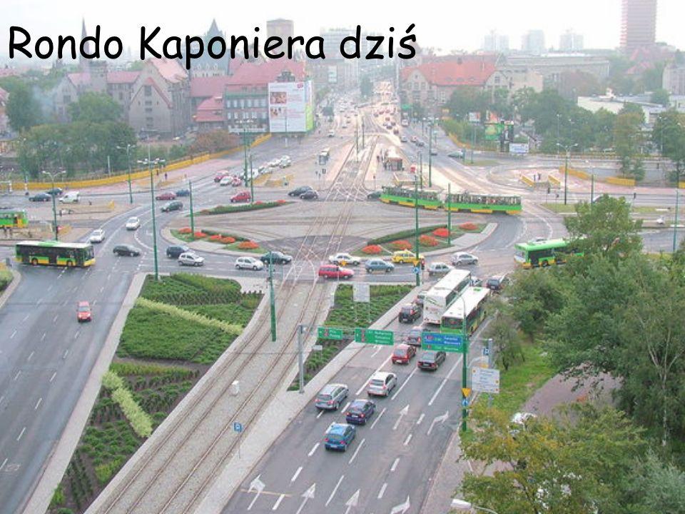 Rondo Kaponiera dziś