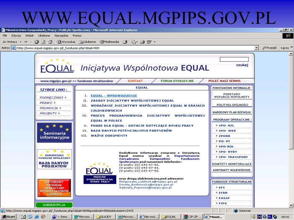 WWW.EQUAL.MGPIPS.GOV.PL