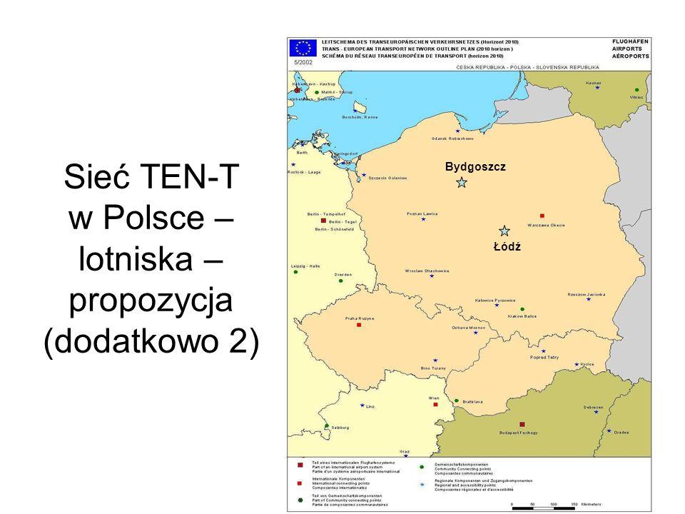 Sieć TEN-T w Polsce – porty morskie i żegluga śródlądowa – stan obecny