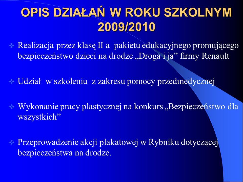 KURS PIERWSZEJ POMOCY W SZKOLE MEDYCZNEJ W RYBNIKU W kursie biorą udział członkowie SKB Pancernik
