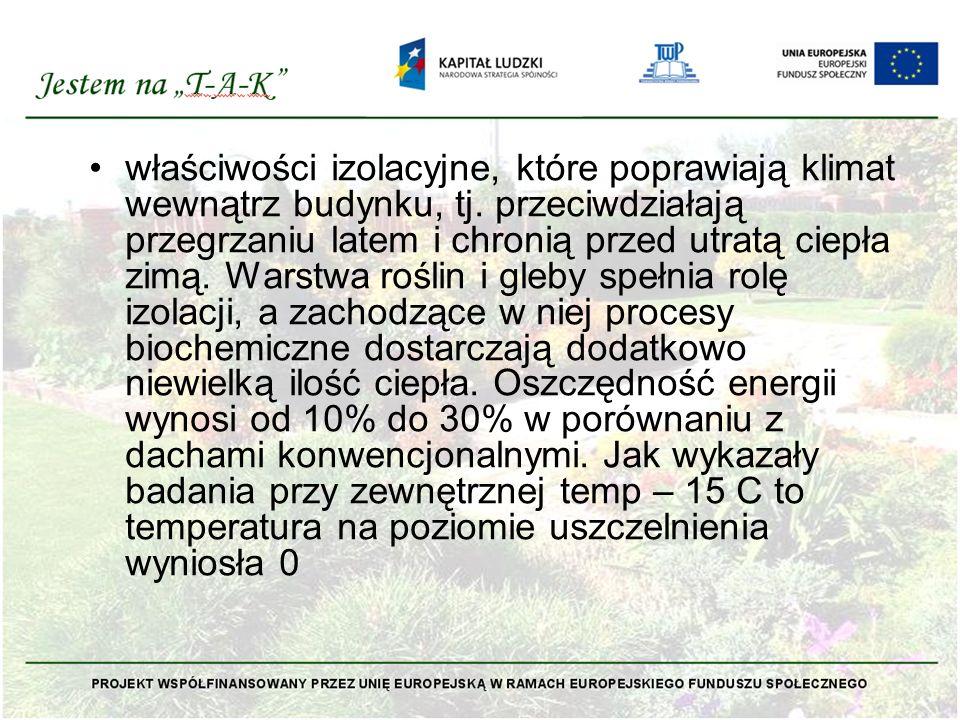 Obecny rozwój zielonych dachów na zachodzie Europy podyktowany jest głównie względami ekonomicznymi oraz ekologicznymi.