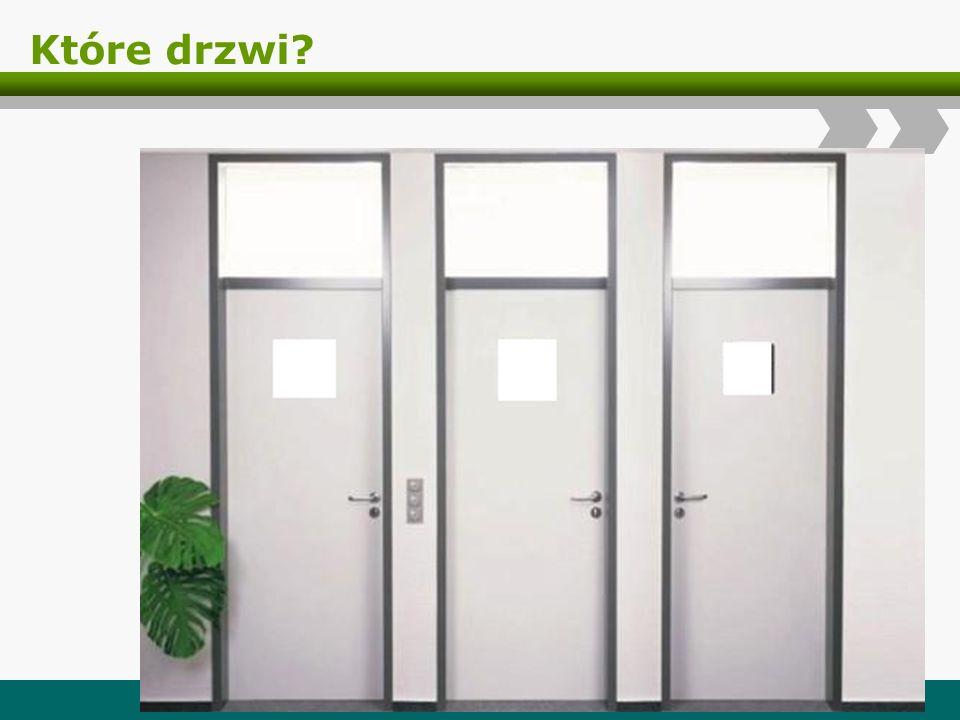 Które drzwi? Logo
