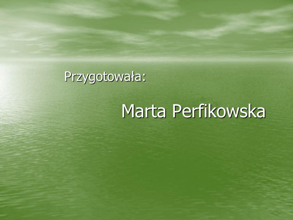 Przygotowała: Marta Perfikowska