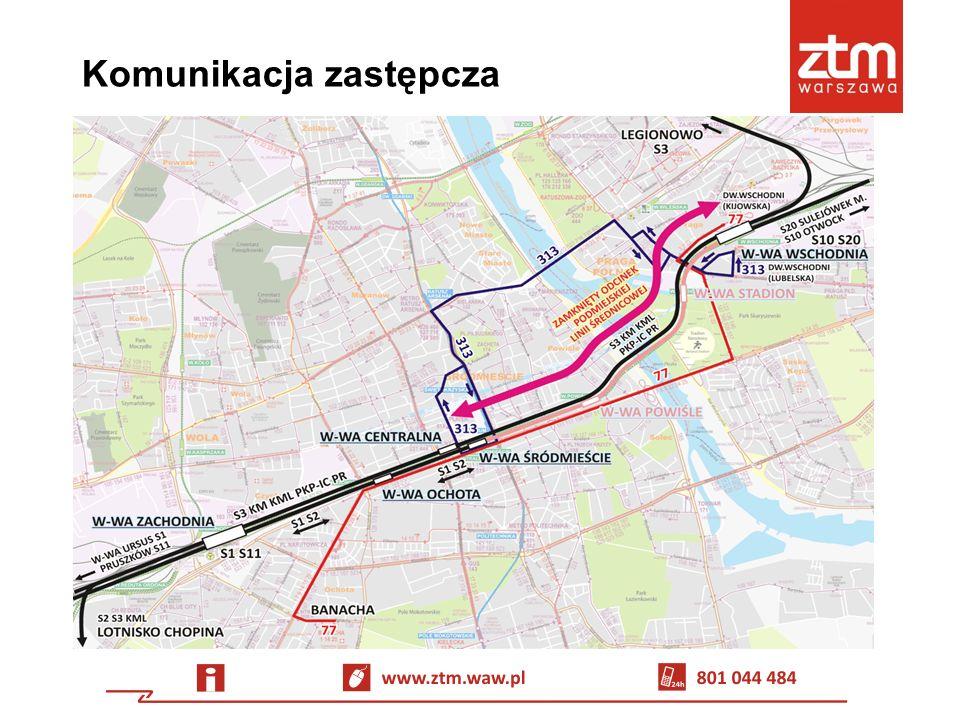 Informacja dla pasażerów Informatorzy – na Dw.Wschodnim i Dw.