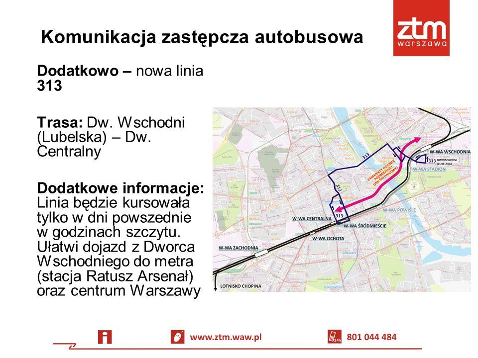 Akcja informacyjna Informatorzy ZTM 26.06 – 28.06 na stacjach: Centrum, Świętokrzyska i Ratusz Arsenał 29.06 – 05.07 na stacjach: Politechnika, Centrum, Świętokrzyska i Ratusz Arsenał