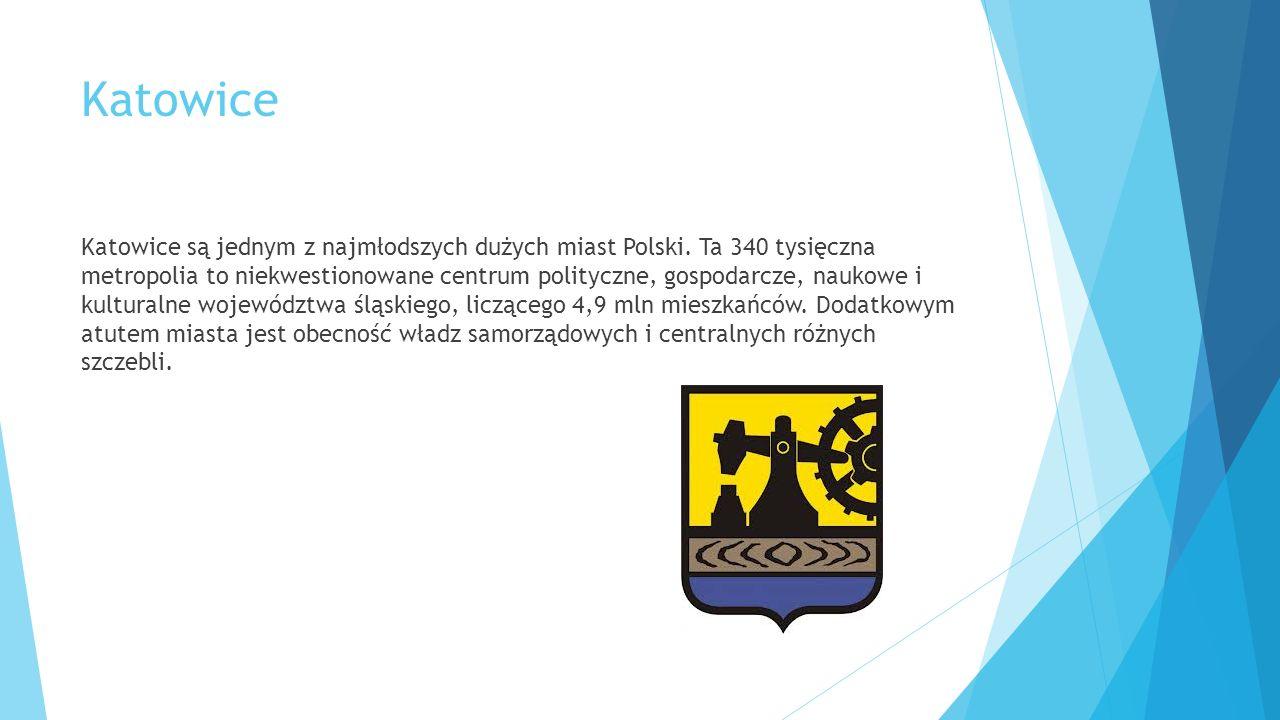 Gospodarka Pozycję Katowic na mapie Polski niegdyś wyznaczały posiadane bogactwa naturalne.