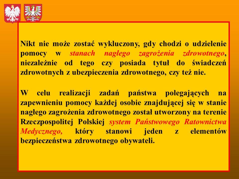Miasto Kraków: Liczba mieszkańców: 756 267 Zagęszczenie: 2314 osób/km 2 Liczba SOR: 6 1 SOR przypada na 151.